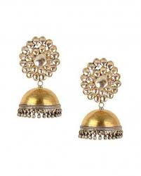 karigari earrings buy women s jhumka earrings with kundan top starting at rs 699 at