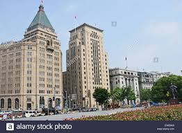 fairmont peace hotel and bank of china old historic and modern