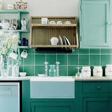 Turquoise Kitchen Decor Ideas Kitchen Decorating Ideas Green Paint Colors And Wall Tiles
