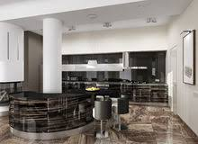 cuisine de luxe moderne modern design kitchen interior stock illustration illustration of