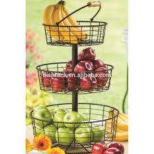 tiered fruit basket kitchen accessories 3 tier wire fruit basket buy fruit basket