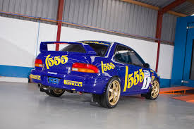 subaru rally car a replica of a rallying icon used cars ni blog