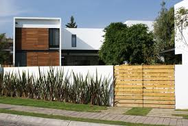 modern minimalist fence wall designs ideas and black wooden house