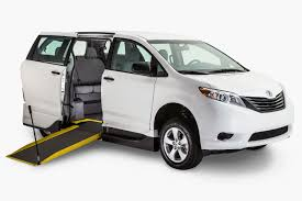 toyota vans 2017 toyota sienna wheelchair van for sale