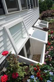 Basement Well Windows - basement window wells how to make them less awful i so need to