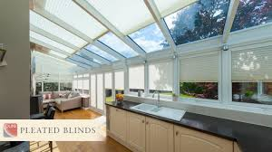 pure pleated window blinds by conservatory blinds limited youtube
