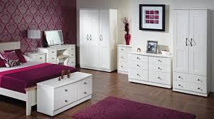 Kingsley Bedroom Lifestyle Furniture - Brilliant white bedroom furniture set house