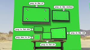 Green Tv Green Screen Mod Gta5 Mods Com