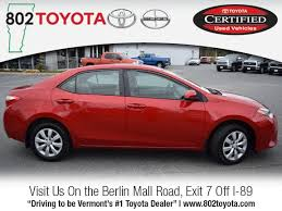 toyota dealers used cars for sale special offers on used cars for sale in vermont 802 toyota