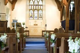 free image decorated church aisle