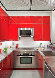 Red Cabinets Kitchen by 15 Red Themed Spaces Inspired By Grammys Fashion Hgtv U0027s