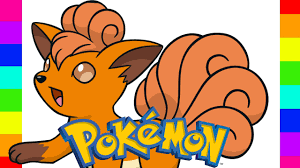 coloring vulpix pokemon go coloring pages for kids youtube