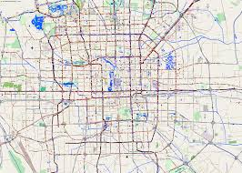 Beijing Map City Maps Beijing