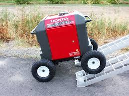 amazon com all terrain wheel kit fits honda eu3000is
