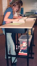 Standing Desks For Students Standing Desks Are Helping Students Think On Their Feet Nea Today