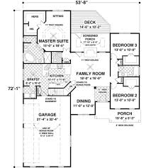 craftsman style house plan 3 beds 2 00 baths 1800 sq ft plan 56 631