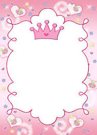 blank cards 30 princess blank cards for invitation thank you note girl