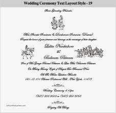 wedding ceremony phlet wedding invitation cards format wedding invitation