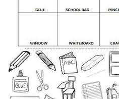 spanish classroom objects labeling worksheet spanish classroom
