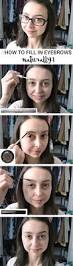 How To Color In Eyebrows How To Fill In Eyebrows Naturally A Thing Of Beauty