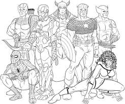 avengers spiderman woman coloring pages bebo pandco