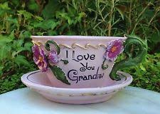 teacup planter ebay