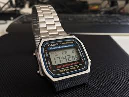 casio a168 retro flashback the casio illuminator