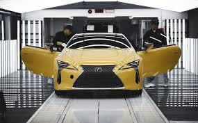 lexus japan toyota lexus gives inside look at lc production