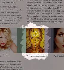 mud make up designory course catalog 2010 highlighted portion only