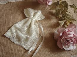 lace favor bags ivory lace favor bags wedding lace favor bags 100 vintage