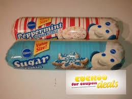 pillsbury refrigerated cookie dough coupon deal u003d 0 98 single