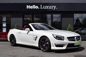 used mercedes convertible used 2016 mercedes benz sl amg sl 63 for sale in leicester