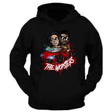 wopsters keyshia kaoir gucci mane hoodie black keyshia ka u0027oir