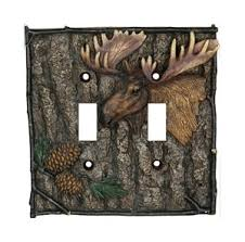 bear light switch covers moose double light switch cover moose decor cher bear decor