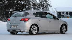 opel christmas 2012 opel astra gsi caught undisguised