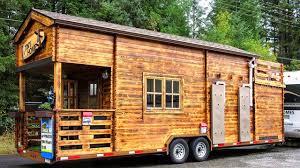 tiny cabin on wheels by realwood tiny homes youtube
