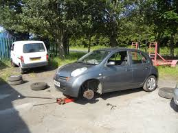 nissan micra tyre size nissan micra k12 wheels bag of cats