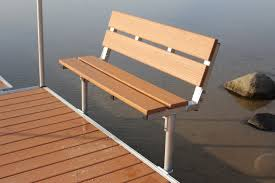 bench brackets for deck or dock home design ideas