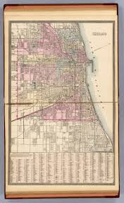 Map Chicago Chicago David Rumsey Historical Map Collection