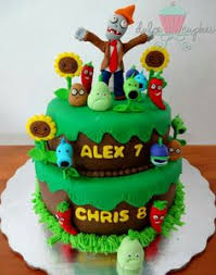 Plants Vs Zombies Cake Decorations High Five Cakes Plants Vs Zombies Modelling Tutorials