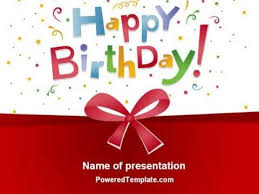 happy birthday template for powerpoint border frames powerpoint
