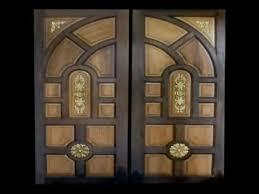 Chokhat Design Wood Doors Custom Double Design Carved Youtube