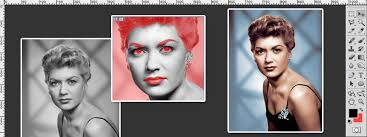 designcrowd tutorial colorize a black and white image photoshop tutorial