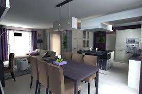 deco fr cuisine salon salle a manger cuisine 50m2 0 photo et carrelage d233co deco