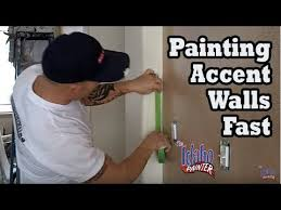 painting an accent wall quickly paint different wall colors