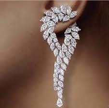 brinco zirconia waterdrop earrings brinco zirconia luxury cubic zirconia cz unique