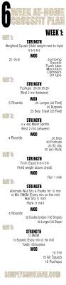 home work out plans 6 week at home crossfit inspired workouts week 1 fitness