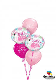 balloon delivery sydney flamingo birthday balloon bouquet gifts in the balloons