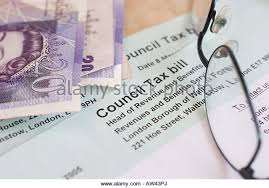 Westminster Council Tax Leaflet Uk Council Tax Bill Stock Photos Uk Council Tax Bill Stock