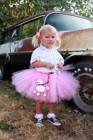 50s Halloween Costume Ideas Pink Poodle